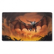 Dragon Shield Play Mat - Copper 'Draco Primus, Unhinged'