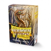 Dragon Shield Japanese Matte Sleeves - Copper 'Munay' (60 Sleeves)