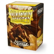 Dragon Shield Standard Sleeves - Copper 'Fiddlestix' (100 Sleeves)