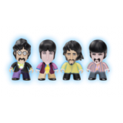 Titan Merchandise - The Beatles TITANS Four Pack: Glow-in-the-Dark Fab Four Vinyl Figures 8cm