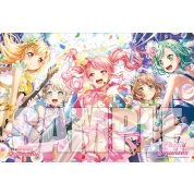 Bushiroad Rubbermat Collection Extra Vol.155 Pastel*Palettes Garupa Starlight Fes 2019 Event Exclusive Supplies