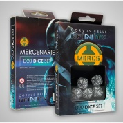 Infinity: Mercenaries D20 Dice Set (5)