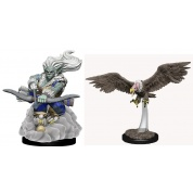 WizKids Wardlings Painted Miniatures: Wind Orc & Vulture (6 Units)