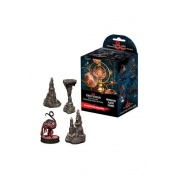 D&D Icons of the Realms: Volo & Mordenkainen's Foes Case of 4 Booster Bricks (8 ct.) with Elder Brain & Stalagmites Premium Set - EN