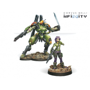 Infinity: Scarface and Cordelia, Mercenary Armored Team - EN