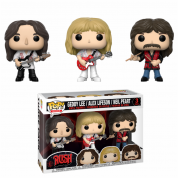 Funko POP! Rush - Geddy, Alex, Neil 3-Pack Vinyl Figures 10cm