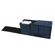 UP - Suede Collection Alcove Vault Deck Box - Sapphire