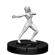 Marvel HeroClix Deep Cuts Unpainted Miniatures: Psylocke (4 Units) - EN