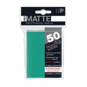 UP - Standard Sleeves - Pro-Matte - Non Glare - Aqua (50 Sleeves)