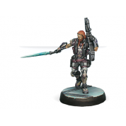 Infinity: Phoenix. Veteran Myrmidon Officer (Heavy Rocket Launcher) - EN