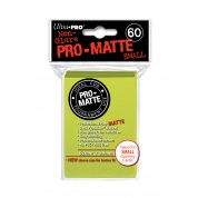 UP - Small Sleeves - Pro-Matte - Bright Yellow (60 Sleeves)