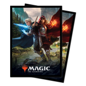 UP - Standard Deck Protectors - Magic: The Gathering Throne of Eldraine V1 (100 Sleeves)