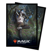 UP - Standard Deck Protectors - Magic: The Gathering Throne of Eldraine V2 (100 Sleeves)
