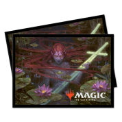UP - Standard Deck Protectors - Magic: The Gathering Throne of Eldraine V4 (100 Sleeves)