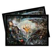 UP - Standard Deck Protectors - Magic: The Gathering Throne of Eldraine V5 (100 Sleeves)