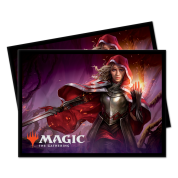 UP - Standard Deck Protectors - Magic: The Gathering Throne of Eldraine V7 (100 Sleeves)