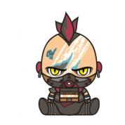 Borderlands 3 Plush Psycho 2.0 Stubbin 16cm