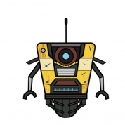 Borderlands 3 Plush Claptrap Stubbin 16cm