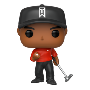 Funko POP! Tiger Woods (Red Shirt) Vinyl Figure 10cm