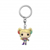 Funko POP! Keychain Birds of Prey - Harley Quinn (Caution Tape) Vinyl Figure