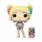 Funko POP! & Buddy Birds of Prey - Harley Quinn w/Beaver Vinyl Figure 10cm