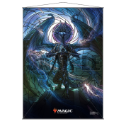 UP - Stained Glass Wall Scroll Magic: The Gathering - Nicol Bolas