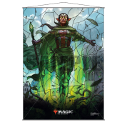 UP - Stained Glass Wall Scroll Magic: The Gathering - Nissa