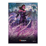 UP - Stained Glass Wall Scroll Magic: The Gathering - Liliana