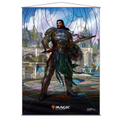UP - Stained Glass Wall Scroll Magic: The Gathering - Gideon