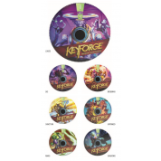 Gamegenic KeyForge Chain Tracker Set (2x7 Trackers)