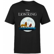 Disney Lion King Hakuna Matata Walk Men's T-Shirt - Black - L