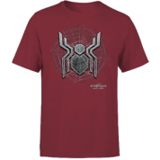 Spider Man Far From Home Web Icon Men's T-Shirt - Burgundy - M
