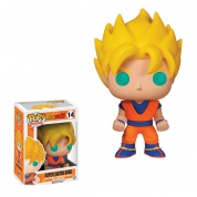 Funko POP! Animation: Dragonball Z - Super Saiyan Goku Vinyl Figure 4-inch