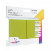 Gamegenic - Prime Sleeves Lime (100 Sleeves)