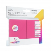 Gamegenic - Matte Prime Sleeves Pink (100 Sleeves)