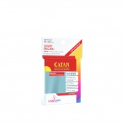 Gamegenic - PRIME Catan-Sized Sleeves 56 x 82 mm - Clear (50 Sleeves)
