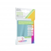 Gamegenic - PRIME Standard American-Sized Sleeves 59 x 91 mm - Clear (50 Sleeves)