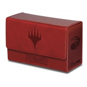 UP - Dual Flip Deck Box - Magic Mana - Red (New)