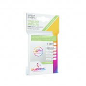 Gamegenic - MATTE Standard American-Sized Boardgame Sleeves 59 x 91 mm - Clear (50 Sleeves)