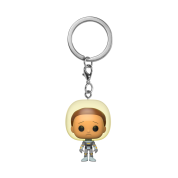 Funko POP! Keychain Rick & Morty - Morty w/Space Suit Vinyl Figure