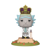 Funko POP! Deluxe Rick & Morty - King of $#!+ w/Sound Vinyl Figure