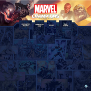 FFG - Marvel Champions: 1-4 Player Game Mat