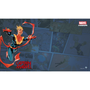 FFG - Marvel Champions: Captain Marvel Game Mat