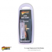 Warlord Large Replacement Knife Blades (5)