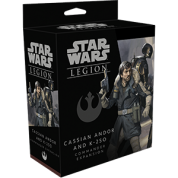FFG - Star Wars Legion: Cassian Andor and K-2S0 Commander Expansion - EN