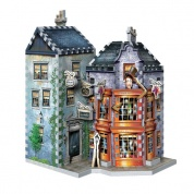 Harry Potter Weasleys Wizard Wheezes and Daily Prophet - Wrebbit 3D puzzle