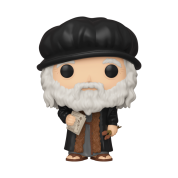 Funko POP! Artists: Leonardo DaVinci Vinyl Figure 10cm