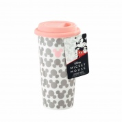 Funko POP! Homewares Lidded Mug - Block Print Mickey