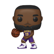 Funko POP! NBA: Lakers - Lebron James Vinyl Figure 10