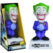 DC Comics Wisecracks JOKER I'm Crazy About You 6-inch Bobble Head